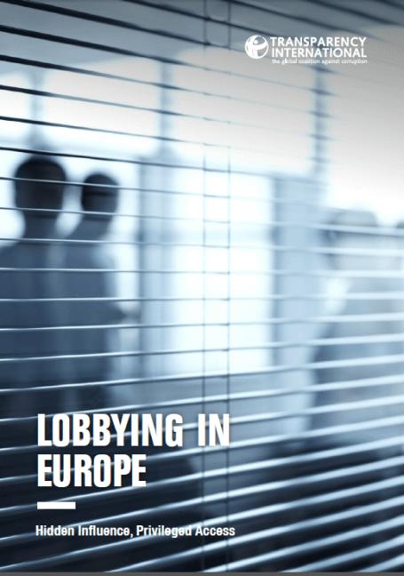 Invloed van lobbyisten in Europa
